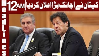 PM Imran Khan unbelievable Statement | Headlines 12 AM | 17 June 2019 | Express News