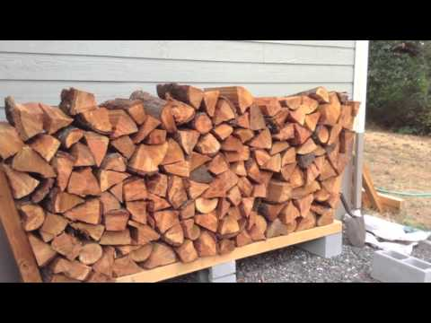 Ingenious DIY Firewood Rack - No Tools, Cheap