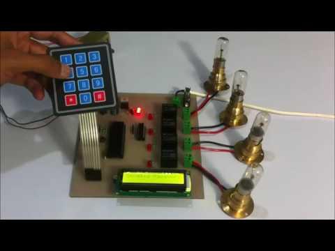 Password Based Circuit Breaker System Using PIC