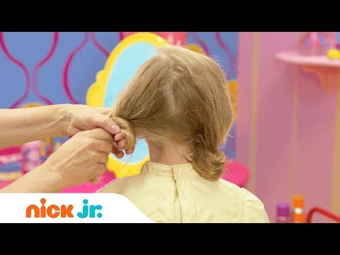 How to Make a Doodle Hairdo 🐩 Style Files Hair Tutorial | Nick Jr. | Sunny Day