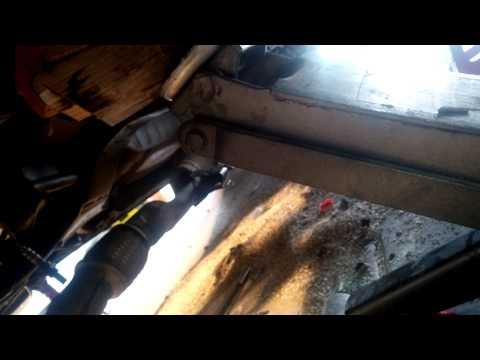 Upper oil pan removal Nissan QR25de