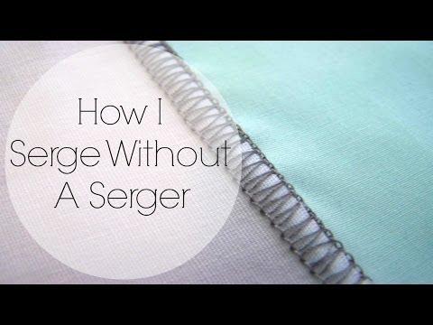 How I Serge W/Out A Serger ‖ TLS