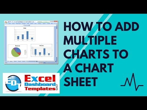 How to Add Multiple Charts to an Excel Chart Sheet