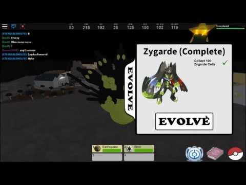 ZYGARDE! - Roblox Pokemon Fighters EX