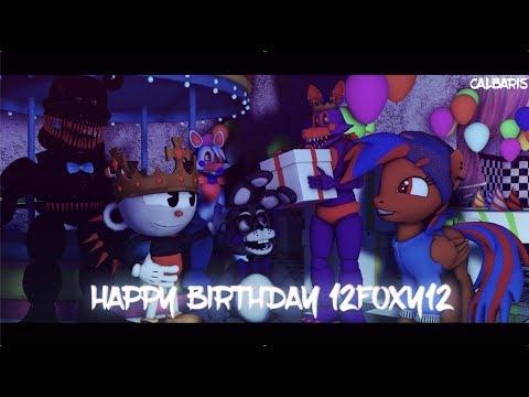 Birthday Poster for 12Foxy12 (HAPPY BDAY)