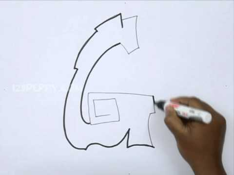A Z Graffiti Alphabet Quick Rough Bubble Letters Graffiti