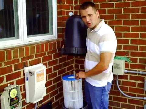 How to Clean a Swimming Pool Cartridge Filter Video