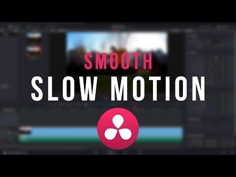 SMOOTH Slow Motion Tutorial - DaVinci Resolve 12.5/14
