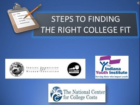 Finding the Right College Fit