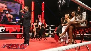 The Miz welcomes the cast of