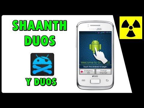 Rom Custom - SHAANTH DUOS no Galaxy Y DUOS (100% FUNCIONAL) + CWM