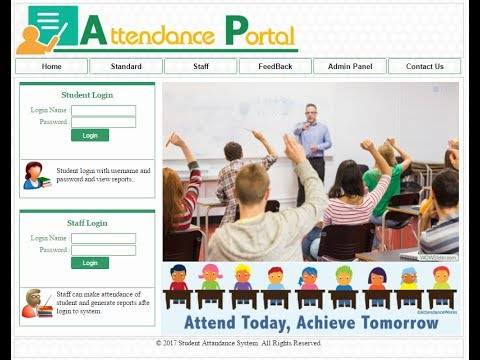 Student attendance management system project in asp.net