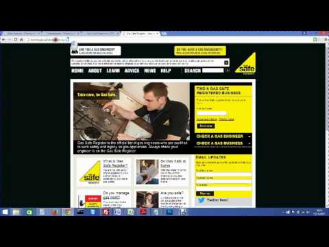 How to check our engineers are registered on Gas Safe Register