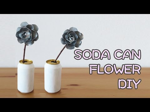 DIY Soda Can Flower Decor | Sunny DIY