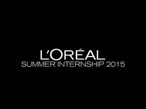 L'Oréal Summer Internship 2015   Julie Anne Ho Video Resume