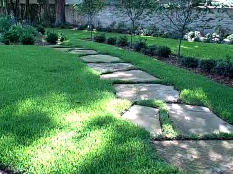 Flagstone Path installed by LarrysGarden.com