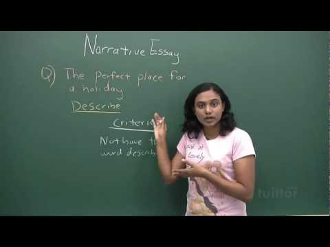 English Secondary 1/2 - Basic Level Composition Writing - Narrative Essay Demo Video