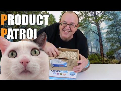 Recyclable Cat Litter: okocat Natural Wood Cat litter