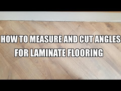 How to Measure and Cut Angles for Laminate Flooring