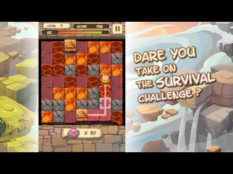 Caveboy Escape - Innovative Match-3 & Tile-Connect Puzzler by Appxplore