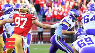 The 49ers whooped the Vikings up front - Tim Hasselbeck | NFL on ESPN