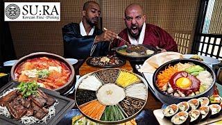 Download تحدي الاكل الكوري لي اول مره في مطعم سورا 🍱 Korean Food Challenge Video