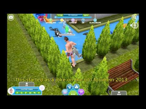 The Sims Freeplay: Run-like-Mad house (Maze 5)