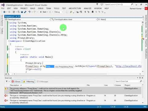 Remoting in C#