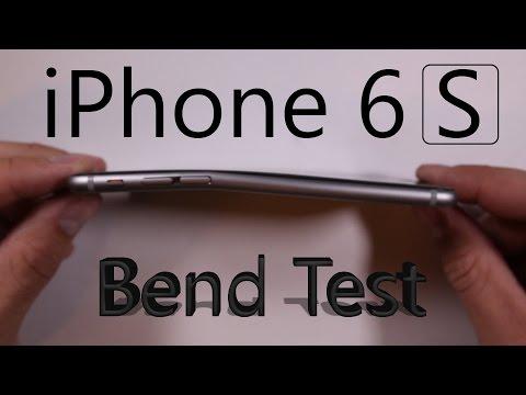 iPhone 6S BEND TEST, Scratch test, Burn test