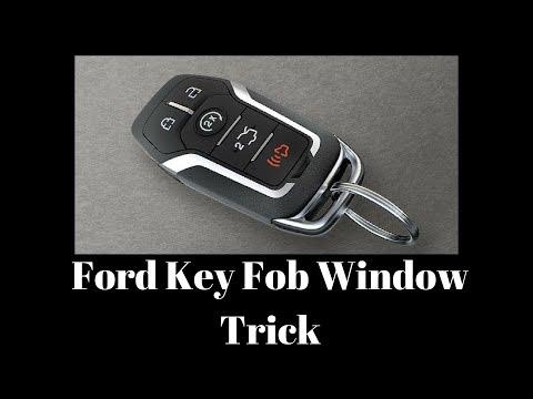Ford Key Fob Window Trick (Global Windows)