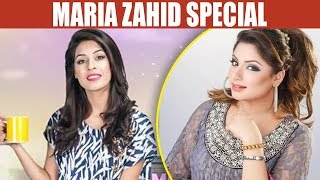 Maria Zahid Special - Mehekti Morning With Sundus Khan - 23 April 2018 | ATV