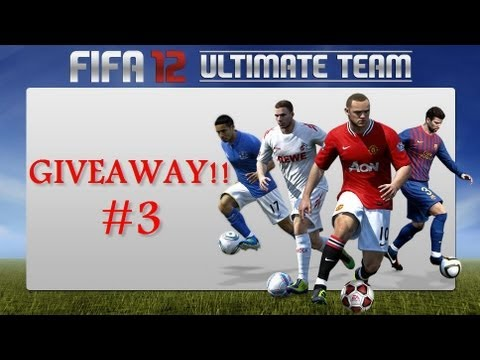 FIFA 12 Ultimate Team GIVEAWAY !!! #3