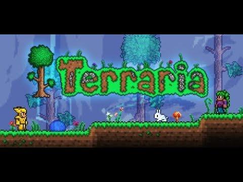 Server de Terraria 1.2.4.1 Brasileiro - Red Bunny (VÍDEO ANTIGO SEM AUDIO)