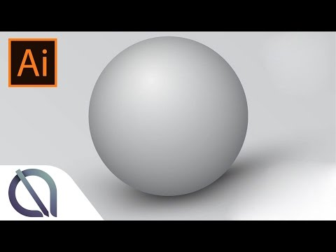 Create realistic shadow sphere - Tutorial - Illustrator
