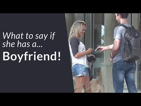 What To Say If She Has A Boyfriend – Dealing With Rejection (+INFIELD)