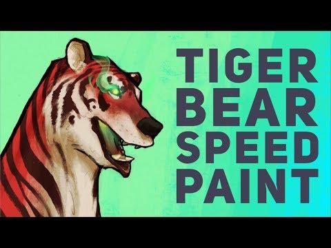 Tiger Bear Speedpaint