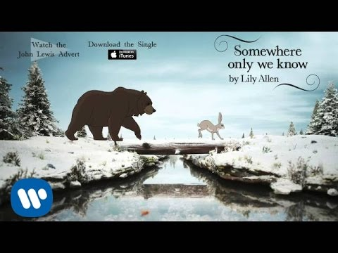 Lily Allen | Somewhere Only We Know (Official Audio - John Lewis Christmas Advert)