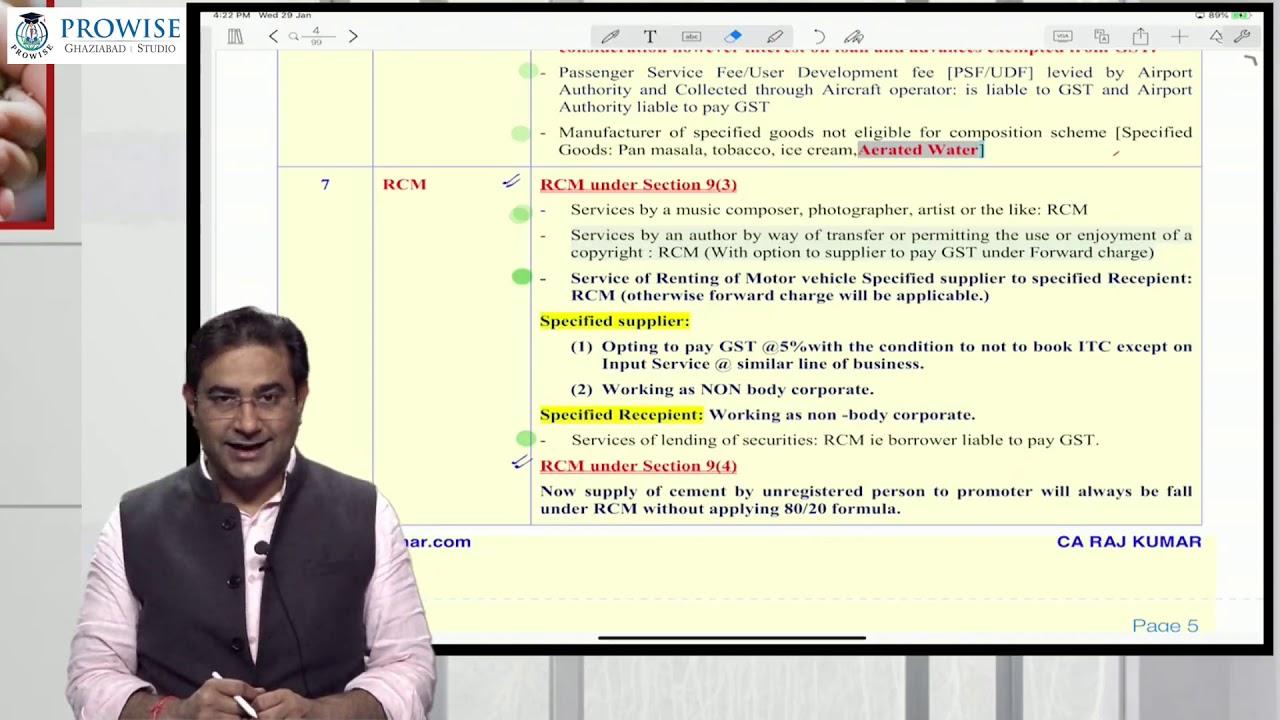 CA Final  For May 2020 Exam Amendment Class : 2