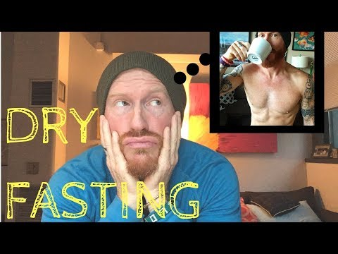Is DRY FASTING good for naturally healing the skin (my experience)