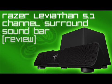 Razer Leviathan 5.1 Channel Surround Sound Bar Review & Sound Test!