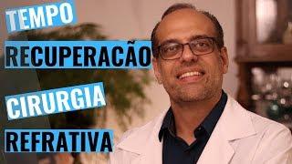 RECUPERAÇÃO  PÓS OPERATÓRIO CIRURGIA REFRATIVA PRK LASIK