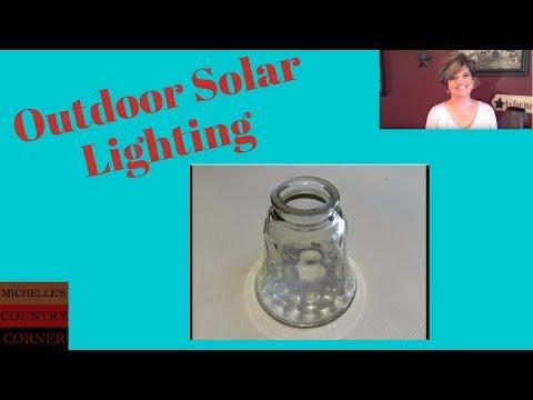 Country Decorating Ideas Outdoor Lighting (Solar Light)