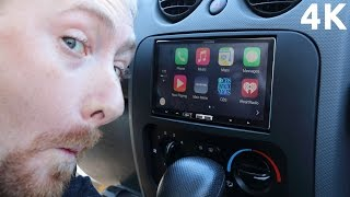 Apple CarPlay on Alpine iLX-007 Quick Overview