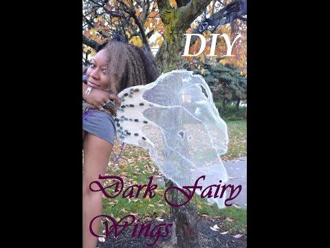 DIY Dark Fairy Wings 1 of 3