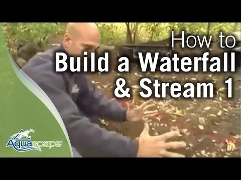 How to Build a Waterfall and Stream Part 1