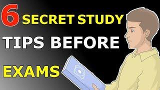 6 SECRET STUDY TIPS TO SCORE HIGHEST IN EXAMS   EXAMS से पहले पढ़ने के 6 तरीके