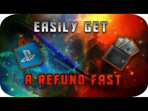 How To Get a Full Refund On The PlayStation Store 2018 (Get any game for free)