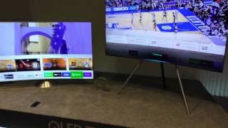 Erste Eindrücke 4K QLED Fernseher von Samsung