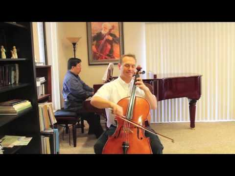 Hunter's Chorus from Suzuki Book 2 - Cello Instruction with Kayson Brown