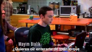 """TBBT - The Big Bang Theory. 7x11 - """"Uncle Dr. Cooper"""". Amy and Penny playing wii. Sub. Esp."""